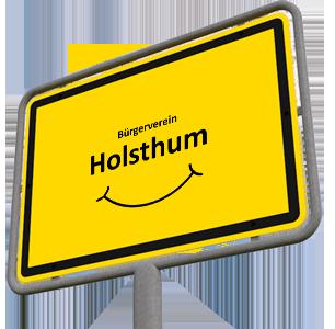 Ortsschild Holsthum